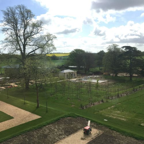 Historic Country House - Courtyard Mid-construction