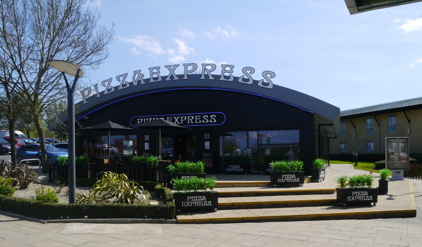 Pizza Express - External View