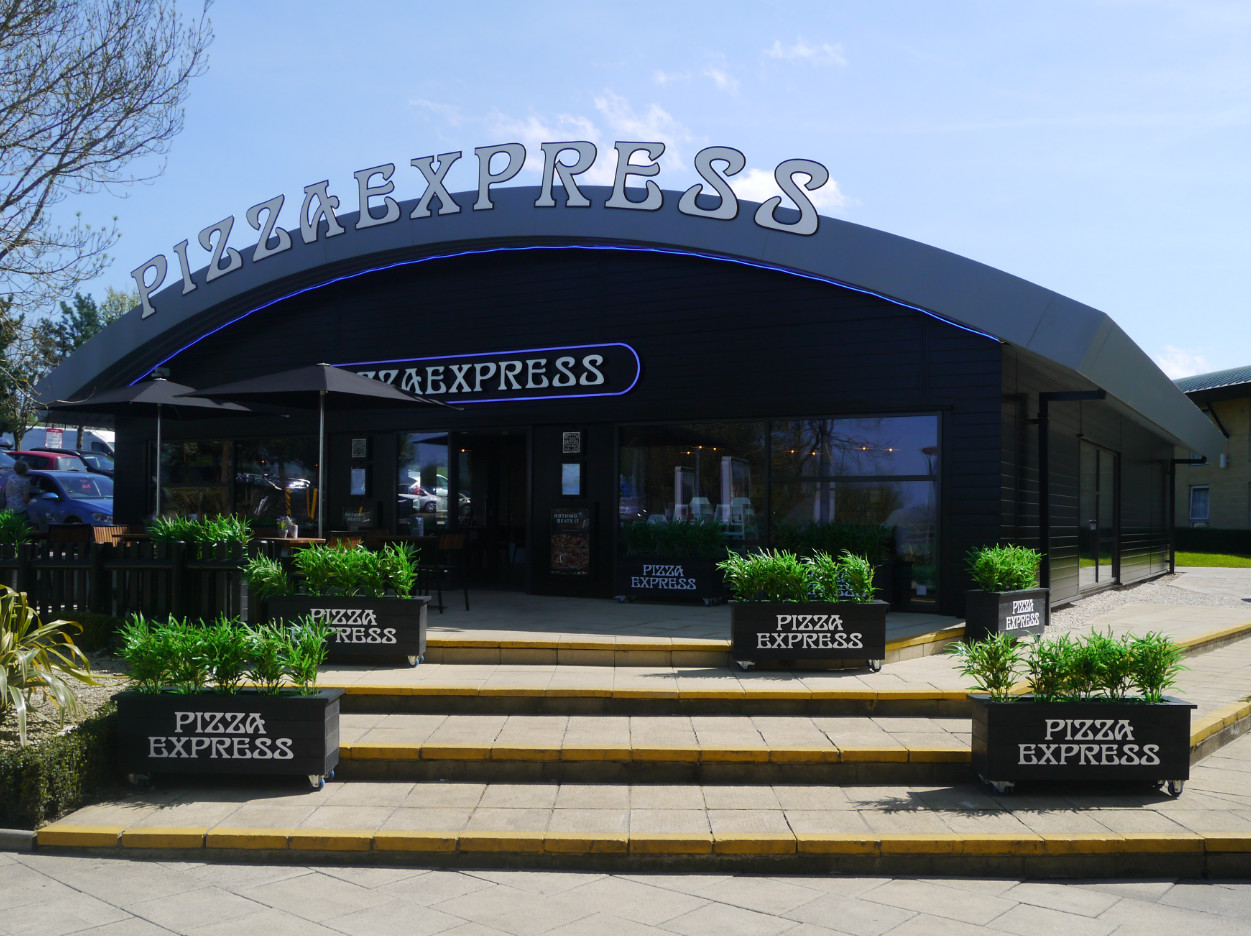 Pizza Express - Entrance