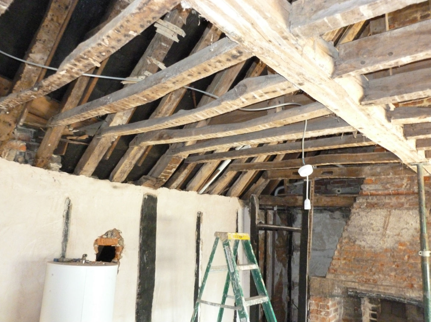 Private Residence, Buckinghamshire - Timber Rafters - Before