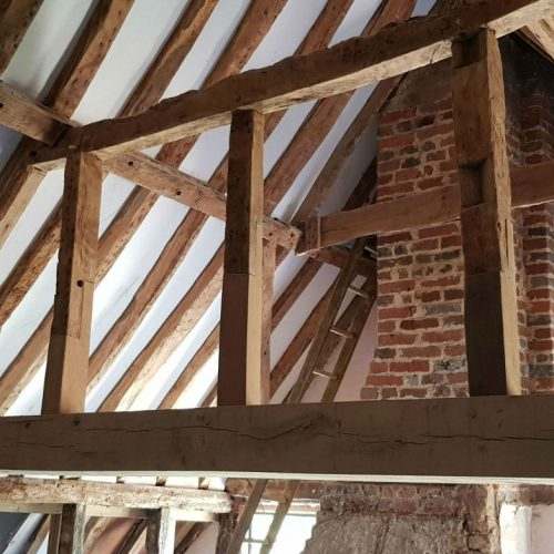 Private Residence, Buckinghamshire - Timber Rafters - After